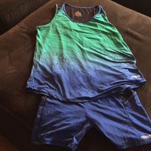 Shorts and tank Athletic wear
